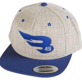 B45 B45 Snapback Grey/Royal Cap