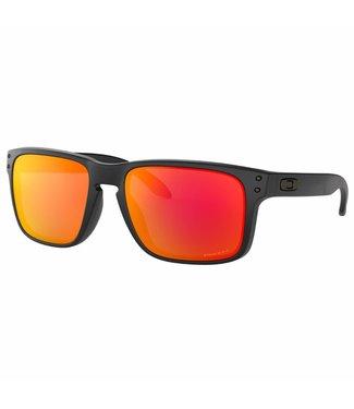 Oakley Oakley Holbrook matte black with Prizm ruby polarized 0OO9102-E255