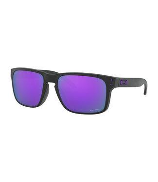 Oakley Oakley Holbrook matte black with Prizm violet polarized 0OO9102-K655