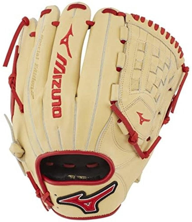 Mizuno Mizuno GMVP1200PSE7 12'' glove RHT Tan/Red