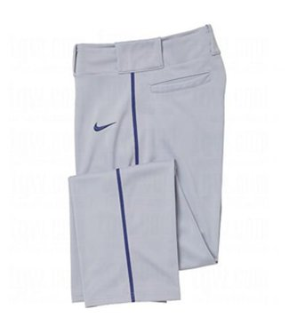 Nike Nike Baseball pant grey/navy piping