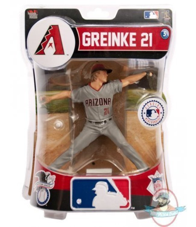 Imports Dragon MLB Figurine Zack Greinke