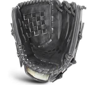 All Star All Star Classic Basket Pitcher's Glove Black 12'' LHT