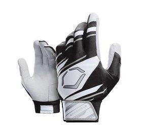 EvoShield EvoShield Batting Gloves Black/White/Grey