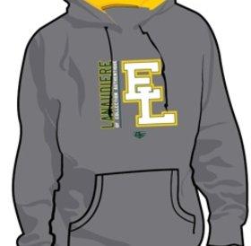 Authentic t-shirt company Elites de Lanaudiere kangourous gris avec logo Elites