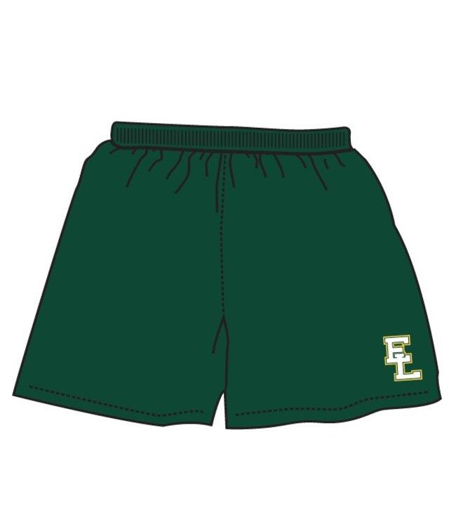 Authentic t-shirt company Elites de Lanaudiere short dry-fit vert avec logo Elites