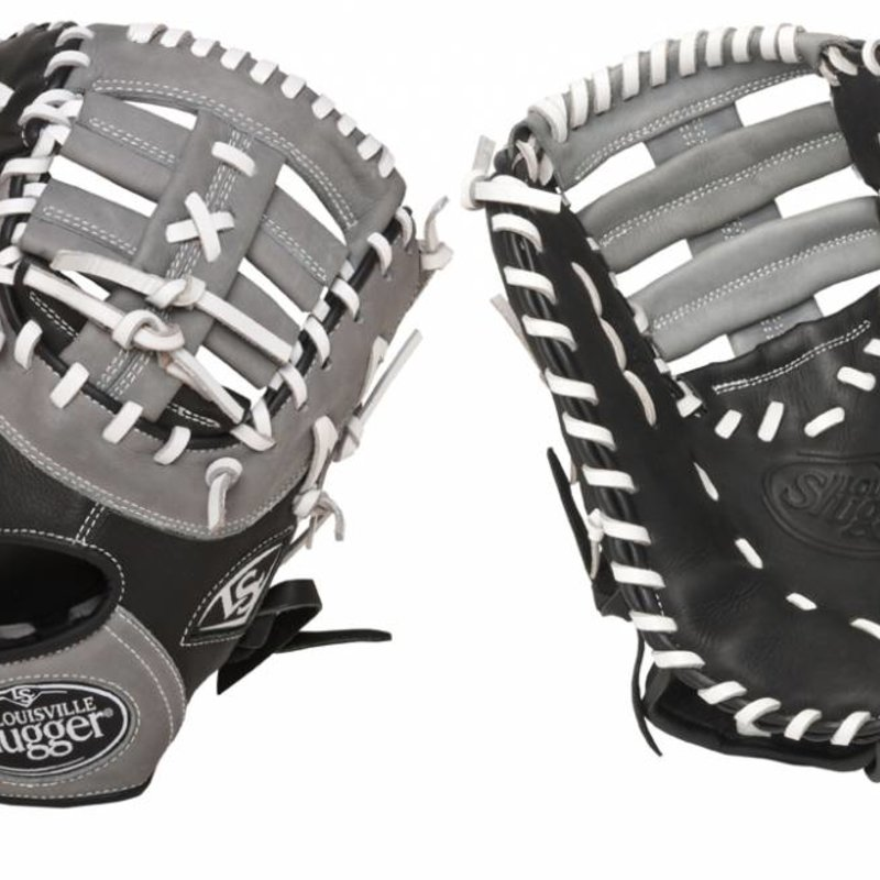e3bcb0b6252 Louisville Slugger LS Omaha Select Youth First base black and grey ...