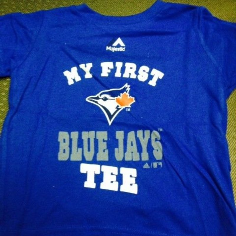 finest selection 287a7 1c70a Toronto Blue Jays Toddler My first Jays t-shirt