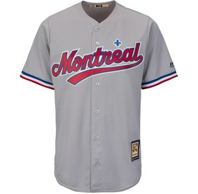 Majestic Majesctic replica jersey expos grey