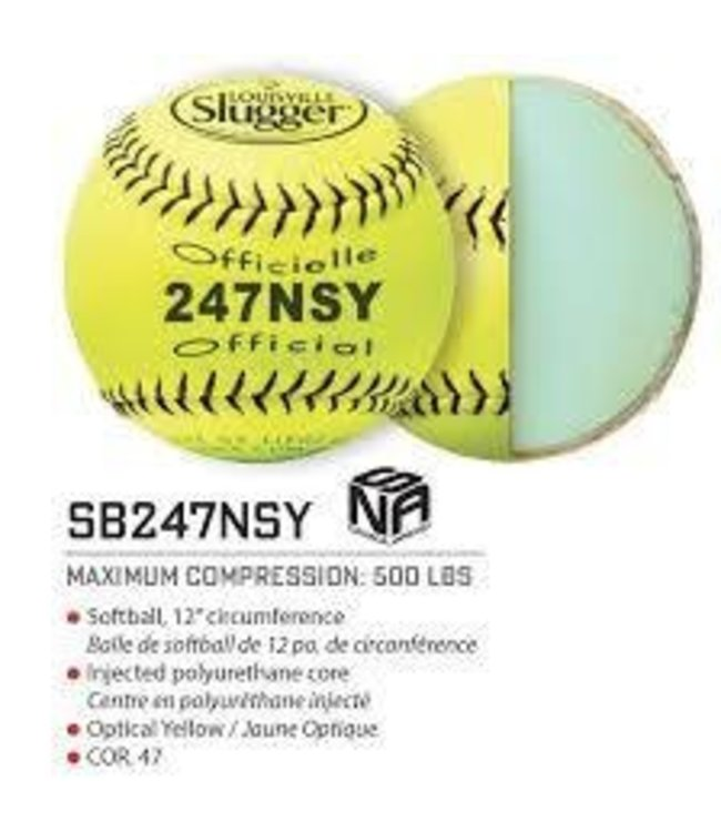 Louisville Slugger Louisville Slugger 247NSY Synthetic Yellow unit