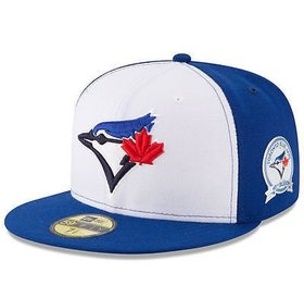 New Era New Era Toronto Blue Jays Youth White/Blue 40th Anniversary 59FIFTY