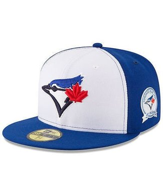 New Era New Era Toronto Blue Jays Youth White/Blue 40th Anniversary 59FIFTY