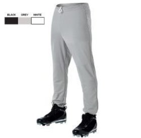 All Star All Star Baseball Pants Youth Poly Pull-Up Pants Grey
