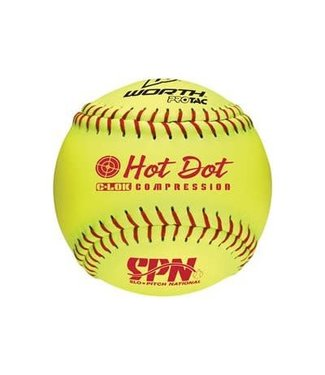 Worth Worth Softball 11'' Hot dot - douzaine