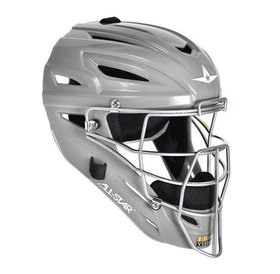 All Star Allstar - System 7 Catcher helmet MVP2500 Silver