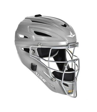 All Star Allstar - System 7 Catcher helmet MVP2500 Silver