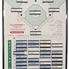 All Star All Star Coacher Frameless Baseball/Softball Magnetic / Dri-Erase Board