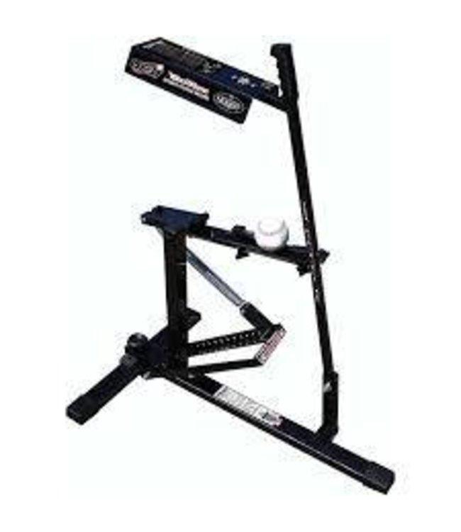 Louisville Slugger LS UPM50 Black Flame Pitching Machine - LSL60222