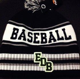Pukka Pukka Tuque l'Entrepot du baseball noir/blanc/gris/neon