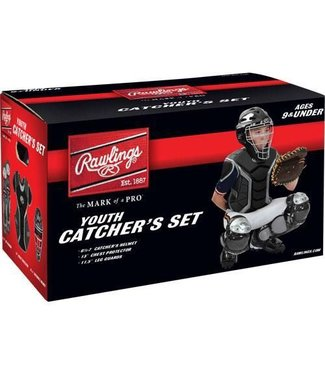 Rawlings Rawlings Players series Catcher Kit Youth Set black PLCSJR-B (9 and under)