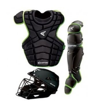Easton Easton M10 Custom Catcher Set Youth Black/Torq