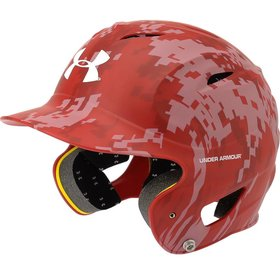 Under Armour Under Armour Batting Helmet Adult Digit-Scarlet