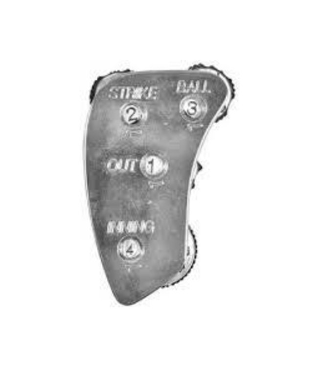 All Star All Star Umpire Indicators UC5-4 Count Steel