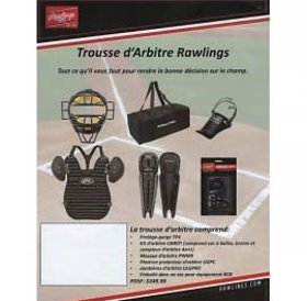 Rawlings Rawlings umpire starter kit - trousse d'arbitre debutant