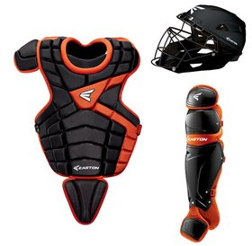 Easton Easton M10 custom Catcher set youth 9 - 12 years old black/orange