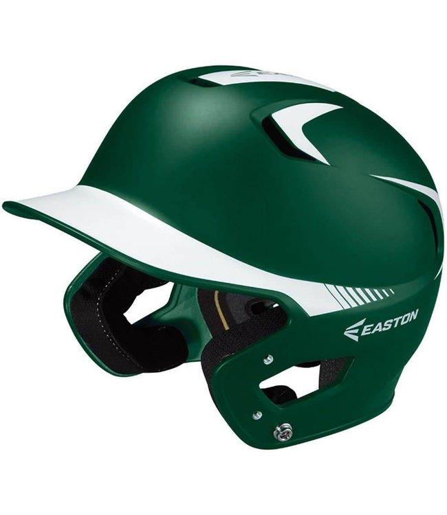Easton Easton Z5 grip Helmet 2 tone Sr Dark Green and white