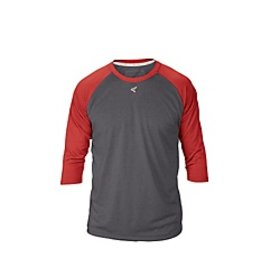 Easton EASTON RAGLAN CREW NECK ADULT Charcoal/Red