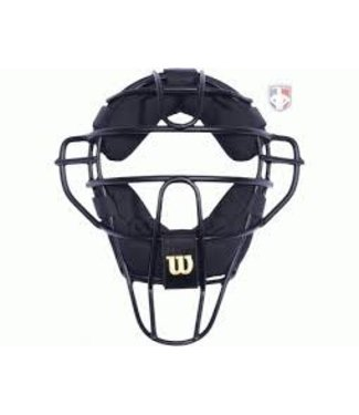 Wilson Wilson Aluminium Umpire Mask leather