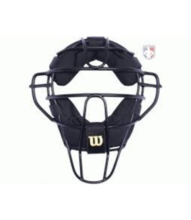 Wilson Wilson Aluminium Umpire Mask leather