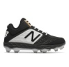 New Balance Athletic New Balance Mid-Cut PM3000 K4 black TPU Molded Cleat