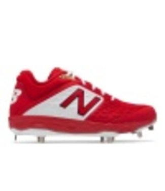 New Balance Athletic New Balance L3000 low cut metal cleats TR4 RED/WHITE