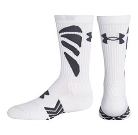 Under Armour Under Armour Army Of 11 Football Crew Socks Mens White Large