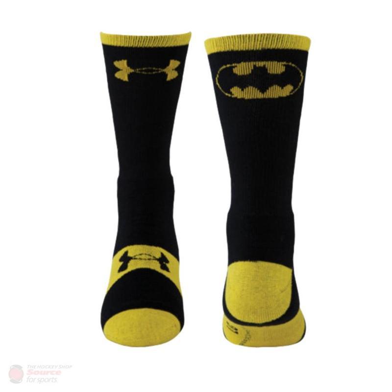 Rask Under Armour Under Armour Performance SuperHero Crew Socks Batman TV-97