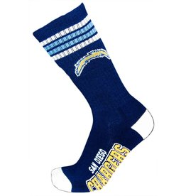 NFL San Diego Chargers Socks With Stripes