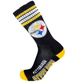 For Bare Feet NFL Pittsburgh Steelers Socks Mens