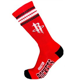 NBA Houston Rockets Socks With Stripes