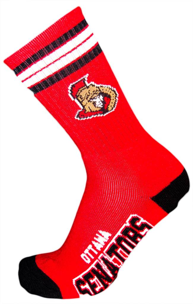 NHL Ottawa Senators Socks With Stripes