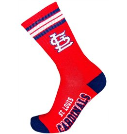 For Bare Feet St. Louis Cardinals Socks With Stripes