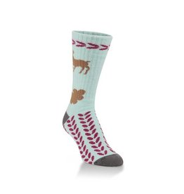 World's Softest Socks Womens Worlds Softest Reindeer Socks