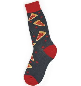 Foot Traffic Mens Pizza Slice Socks