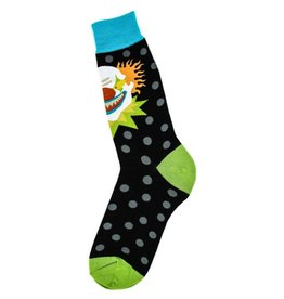 Foot Traffic Mens Scary Clown Socks