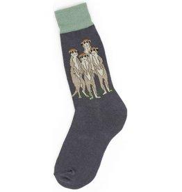 Foot Traffic Mens Meerkat's Socks