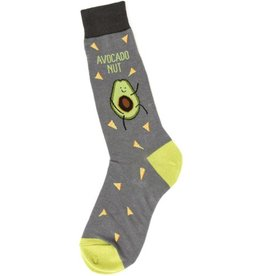 Foot Traffic Mens Avocado Nut Socks