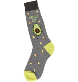 Foot Traffic Mens Avocado Nut Socks