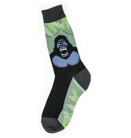 Foot Traffic Mens Gorilla Socks