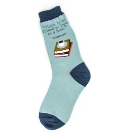 Foot Traffic Womens Loyal Books Socks